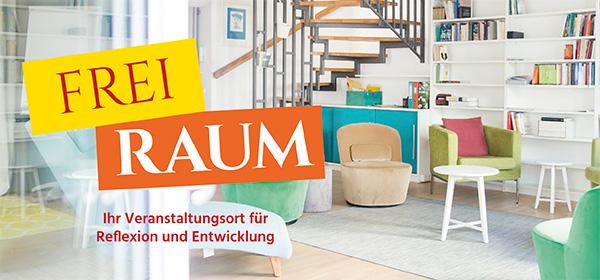Clea Buttgereit - Beratung - Training - Coaching - Organisationsentwicklung - Projekt FreiRaum - Raum mit Stühlen Regale und Treppe