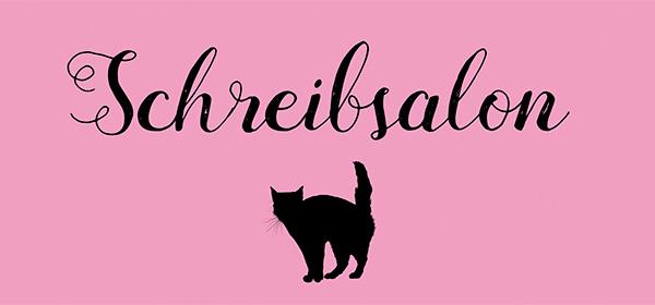 Clea Buttgereit - Beratung - Training - Coaching - Organisationsentwicklung - Schreibsalon - schwarze Katze auf rosa Hintergrund